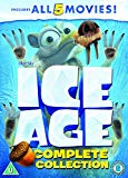 Ice Age 1-5 plus a Mammoth Christmas Box Set [DVD] [2002]
