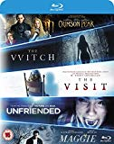The Witch/Crimson Peak/Maggie/The Visit/Unfriended [Blu-ray]