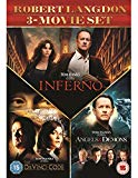 Inferno / Angels & Demons / The Da Vinci Code Box Set [DVD] [2016]