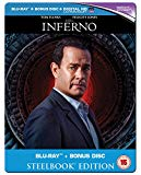 Inferno - Limited Edition Steelbook [Blu-ray] [2016]
