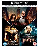 Inferno / Angels & Demons / The Da Vinci Code Box Set 7-Disc Box Set (4K Ultra HD Blu-ray + Blu-ray) [2016]
