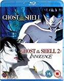 Ghost In The Shell Movie Double Pack (Ghost In The Shell, Ghost In The Shell: Innocence) Blu-ray Blu Ray