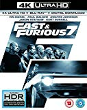 Fast & Furious 7 (4K UHD Blu-ray + Blu-ray+ Digital Download) [2015]