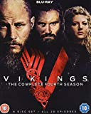 Vikings Complete Season 4 [Blu-ray] [2017]