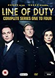 Line of Duty - Series 1-4 DVD