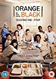 Orange is the New Black Seasons 1 - 4 DVD