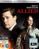 Allied (4K UHD Blu-ray + Blu-ray + Digital Download) [2016]