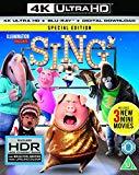 Sing [4K UHD] [2017] [Blu-ray]