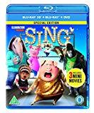 Sing [Blu-ray 3D] [2017] Blu Ray