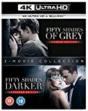 Fifty Shades Darker + Fifty Shades of Grey UHD Double Pack 4K UHD + BD + Digital Copy [Blu-ray] [2017]