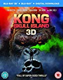 Kong: Skull Island [Blu-ray 3D + Blu-ray + Digital Download] [2017] Blu Ray