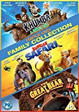Family Triple Collection (Khumba, Jungle Safari, The Great Bear) DVD