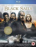 Black Sails 1-4 [Blu-ray]