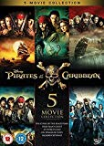 Pirates Of The Caribbean: 5-Movie Collection [DVD]