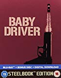 Baby Driver (Steelbook) [Blu-ray] [2017]