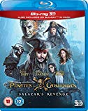Pirates of the Caribbean: Salazar's Revenge [Blu-ray] [2017] Blu Ray