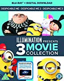 Despicable Me 1-3 Boxset (2D BD + digital download) [Blu-ray] [2017]