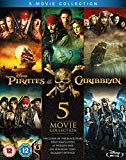 Pirates of the Caribbean 1-5 (Blu-ray) [2017]