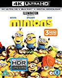 Minions (4K UHD+BD+UV) [Blu-ray] [2017]