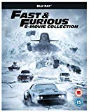 Fast & Furious 8-Film Collection BD + digital download [Blu-ray] [2017] [Region Free]