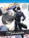 Haven t You Heard? I m Sakamoto Complete Season 1 Collection Blu-ray/DVD Collector s Edition