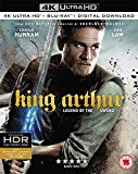 King Arthur: Legend of the Sword [4K UHD + Digital Download] [Blu-ray] [2017]
