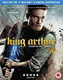 King Arthur: Legend of the Sword [Blu-ray 3D + Digital Download] [2017]