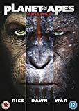 Planet of the Apes Triple  [2017] DVD