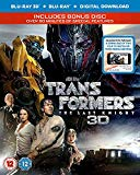 Transformers: The Last Knight (3D Blu-RayTM + Blu-Ray + Bonus Disc + Digital Download) [2017] Blu Ray