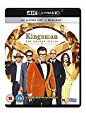 Kingsman: The Golden Circle [Blu-ray 4K +  Blu-ray + UV Copy] [2017] Blu Ray