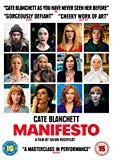 Manifesto [DVD] [2017]