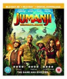 Jumanji: Welcome To The Jungle [Blu-ray 3D] [2017] Blu Ray