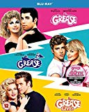 Grease 40th Anniversary Triple (Grease/Grease 2/Grease Live) [Blu-ray] [Region Free]