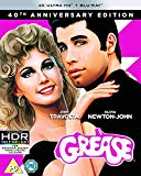 Grease 40th Anniversary 4K UHD (4K UHD Plus BD) [Blu-ray] [Region Free]