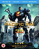 Pacific Rim Uprising (3D Blu-Ray and Blu-Ray Plus Digital Download) [2018] [Region Free] Blu Ray