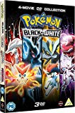 Pokemon Movie 14-16 Collection: Black & White (Victini and Zekrom/Victini and Reshiram, Kyurem Vs. The Sword of Justice, Genesect and the Legend Awakened) [DVD]