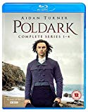Poldark Series 1-4 [Blu-Ray] [2018]