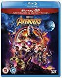 Avengers Infinity War [Blu-ray 3D] [2018] [Region Free] Blu Ray