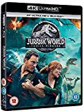 Jurassic World: Fallen Kingdom (4KUHD + Blu-ray + Digital Download) [2018] [Region Free]