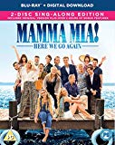 Mamma Mia! Here We Go Again (Blu-ray + Digital Download) [2018] [Region Free] Blu Ray