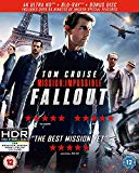 Mission: Impossible - Fallout (4KUHD + Blu-ray + Bonus Disc) [2018] [Region Free]