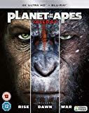 PLANET OF THE APES TRILOGY BOXSET 4K UHD [Blu-ray]
