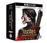 The Hunger Games Complete Collection 1-4 [4K UHD] [2018] [Blu-ray]