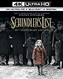 Schindler's List - 25th Anniversary Bonus Edition (4K Blu-ray UHD) [2018] [Region Free]