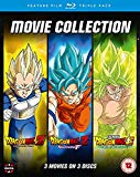 Dragon Ball Movie Trilogy (Battle Of Gods, Resurrection F , Broly) [Blu-ray]
