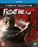Friday the 13th 1-8 Boxset Collection [Blu-ray] [2019] [Region Free]