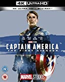 Captain America: The First Avenger UHD [Blu-ray] [2019] [Region Free] Blu Ray