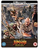 Jumanji: The Next Level - Steelbook (2 Discs - UHD & BD) [Blu-ray] [2019] [Region Free]